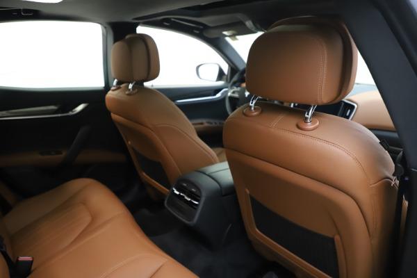 New 2019 Maserati Ghibli S Q4 for sale $91,630 at Aston Martin of Greenwich in Greenwich CT 06830 28