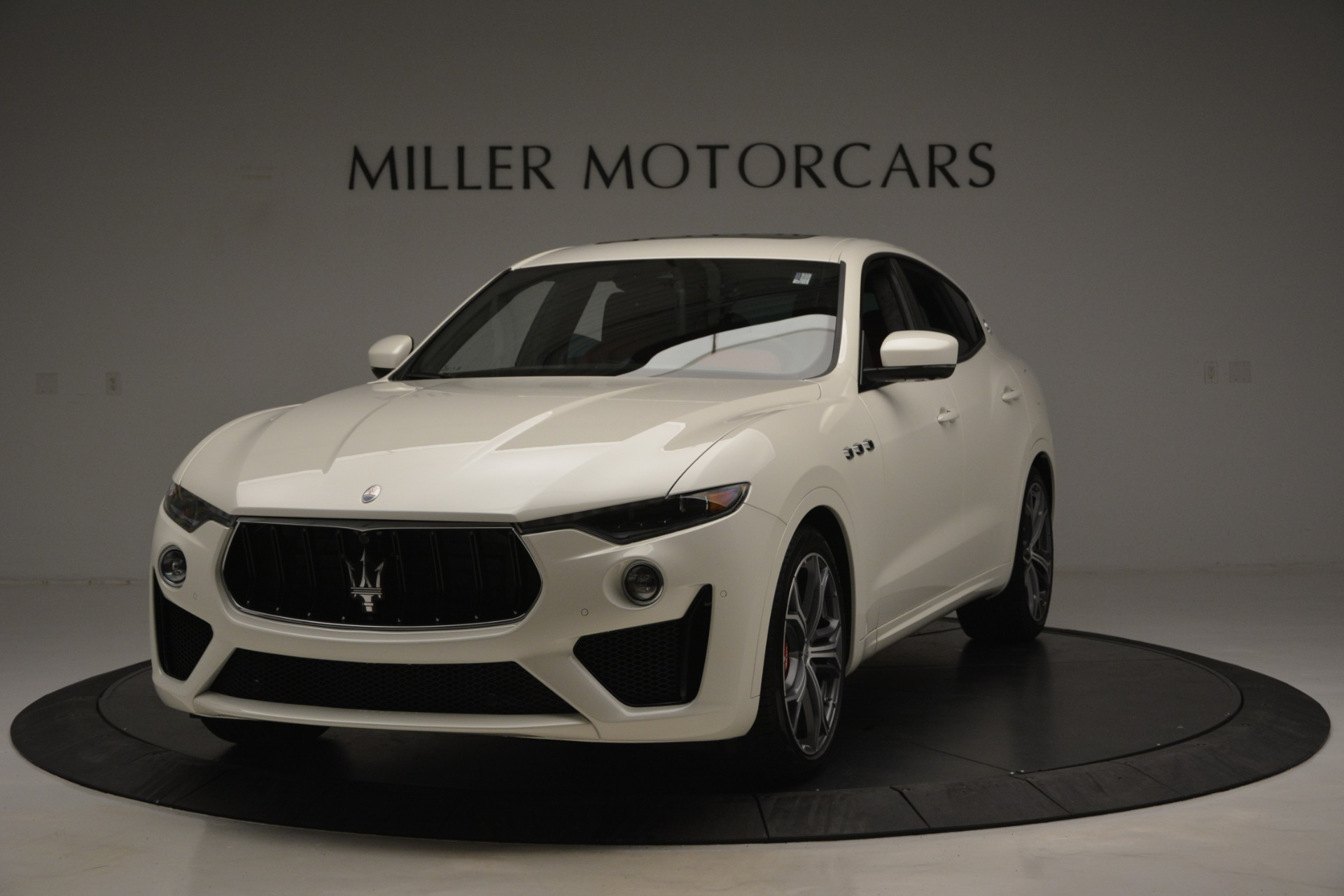 New 2019 Maserati Levante GTS for sale Sold at Aston Martin of Greenwich in Greenwich CT 06830 1