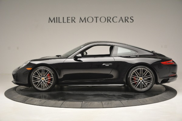 Used 2017 Porsche 911 Carrera 4S for sale Sold at Aston Martin of Greenwich in Greenwich CT 06830 3