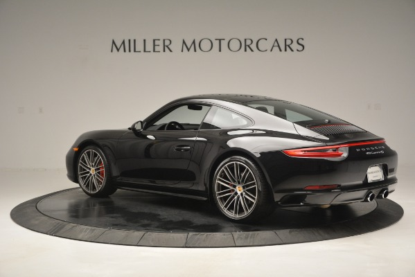 Used 2017 Porsche 911 Carrera 4S for sale Sold at Aston Martin of Greenwich in Greenwich CT 06830 4