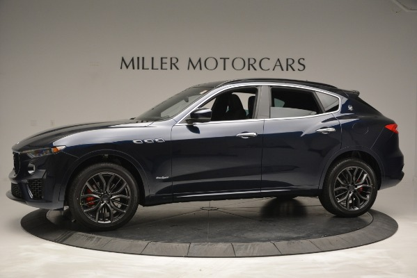 New 2019 Maserati Levante Q4 GranSport for sale Sold at Aston Martin of Greenwich in Greenwich CT 06830 3