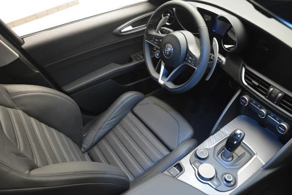 New 2019 Alfa Romeo Giulia Ti Sport Q4 for sale Sold at Aston Martin of Greenwich in Greenwich CT 06830 17