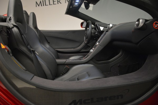 Used 2015 McLaren 650S Spider for sale Sold at Aston Martin of Greenwich in Greenwich CT 06830 28