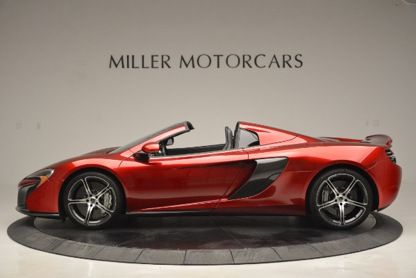 Used 2015 McLaren 650S Spider for sale Sold at Aston Martin of Greenwich in Greenwich CT 06830 3