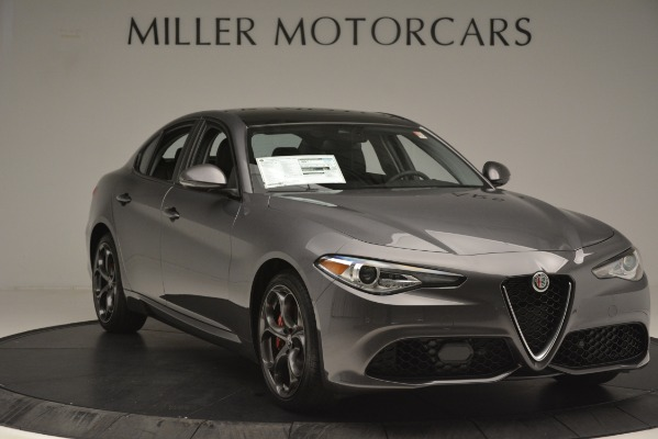 New 2019 Alfa Romeo Giulia Ti Sport Q4 for sale Sold at Aston Martin of Greenwich in Greenwich CT 06830 11