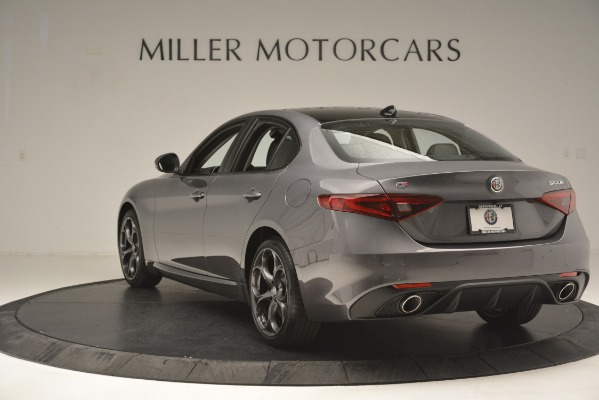 New 2019 Alfa Romeo Giulia Ti Sport Q4 for sale Sold at Aston Martin of Greenwich in Greenwich CT 06830 5