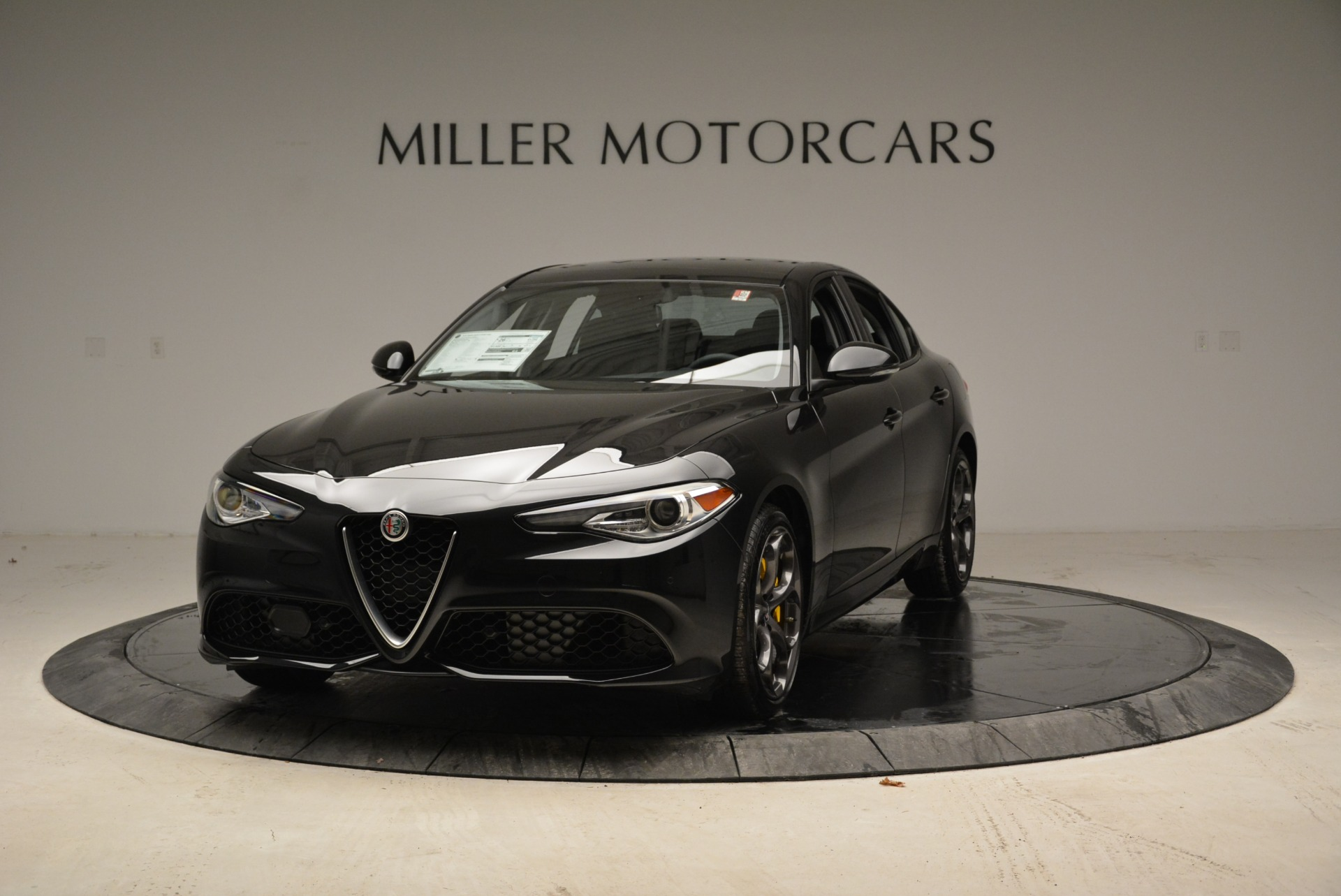 New 2019 Alfa Romeo Giulia Ti Sport Q4 for sale Sold at Aston Martin of Greenwich in Greenwich CT 06830 1