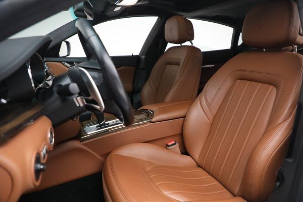 Used 2015 Maserati Quattroporte S Q4 for sale Sold at Aston Martin of Greenwich in Greenwich CT 06830 13