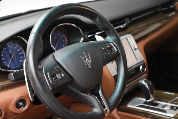 Used 2015 Maserati Quattroporte S Q4 for sale Sold at Aston Martin of Greenwich in Greenwich CT 06830 23