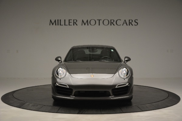 Used 2015 Porsche 911 Turbo S for sale Sold at Aston Martin of Greenwich in Greenwich CT 06830 12