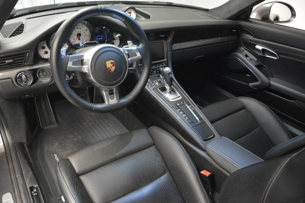 Used 2015 Porsche 911 Turbo S for sale Sold at Aston Martin of Greenwich in Greenwich CT 06830 14