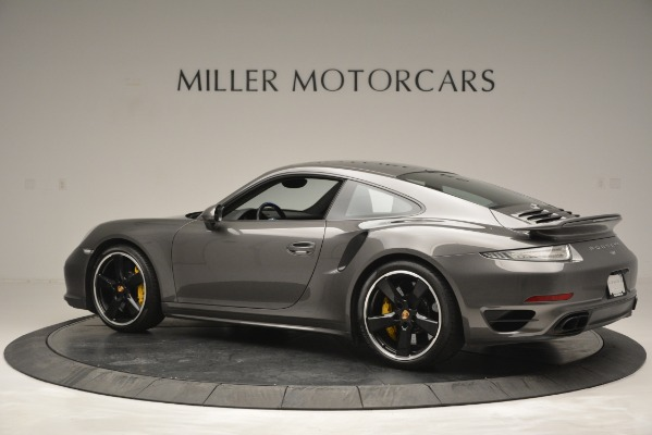 Used 2015 Porsche 911 Turbo S for sale Sold at Aston Martin of Greenwich in Greenwich CT 06830 4