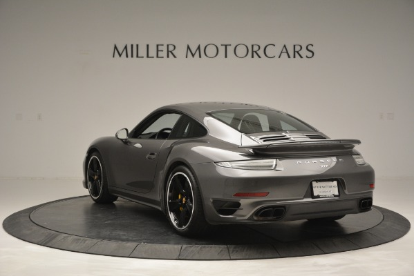 Used 2015 Porsche 911 Turbo S for sale Sold at Aston Martin of Greenwich in Greenwich CT 06830 5