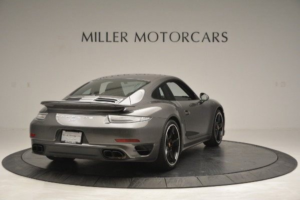 Used 2015 Porsche 911 Turbo S for sale Sold at Aston Martin of Greenwich in Greenwich CT 06830 7