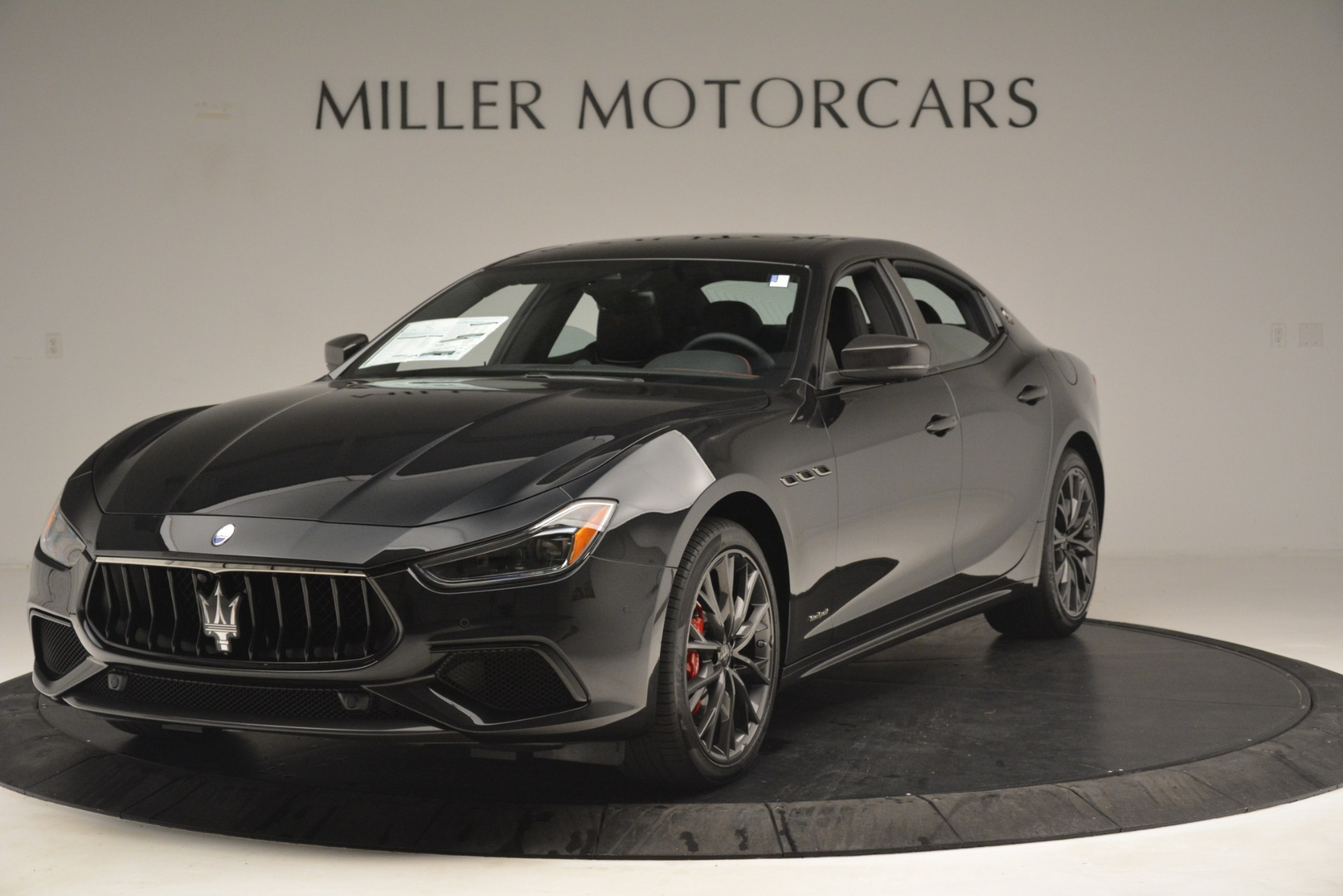 New 2019 Maserati Ghibli S Q4 GranSport for sale Sold at Aston Martin of Greenwich in Greenwich CT 06830 1