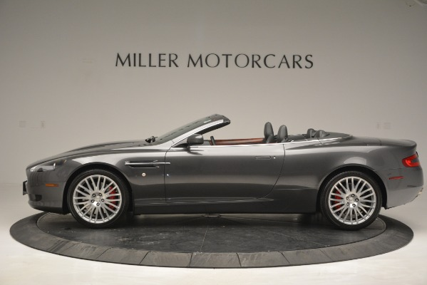 Used 2009 Aston Martin DB9 Convertible for sale Sold at Aston Martin of Greenwich in Greenwich CT 06830 3