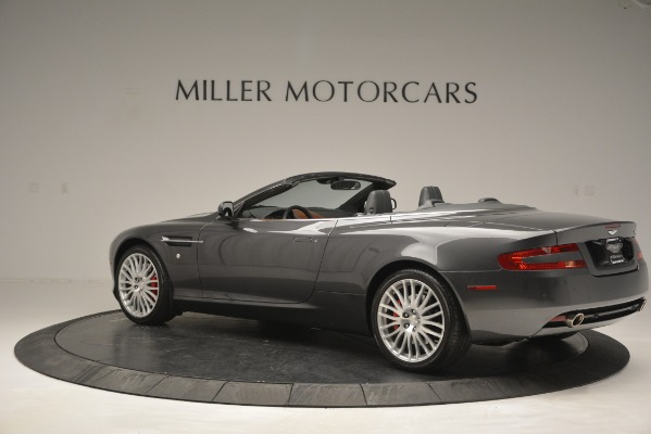 Used 2009 Aston Martin DB9 Convertible for sale Sold at Aston Martin of Greenwich in Greenwich CT 06830 4