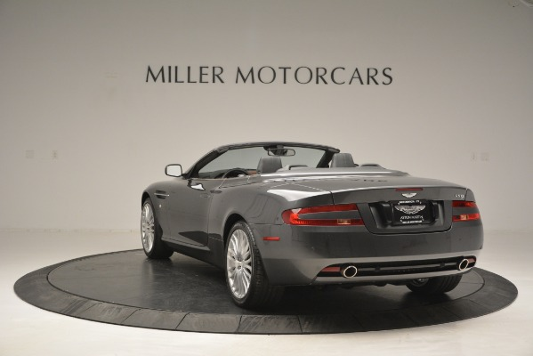 Used 2009 Aston Martin DB9 Convertible for sale Sold at Aston Martin of Greenwich in Greenwich CT 06830 5