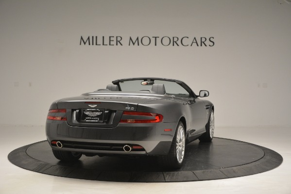 Used 2009 Aston Martin DB9 Convertible for sale Sold at Aston Martin of Greenwich in Greenwich CT 06830 7