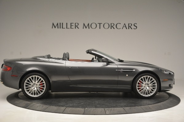 Used 2009 Aston Martin DB9 Convertible for sale Sold at Aston Martin of Greenwich in Greenwich CT 06830 9