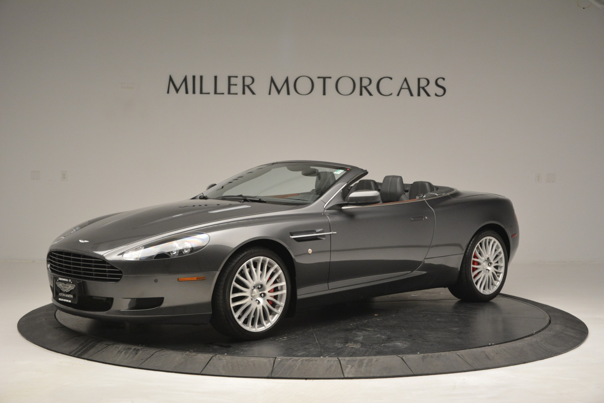 Used 2009 Aston Martin DB9 Convertible for sale Sold at Aston Martin of Greenwich in Greenwich CT 06830 1