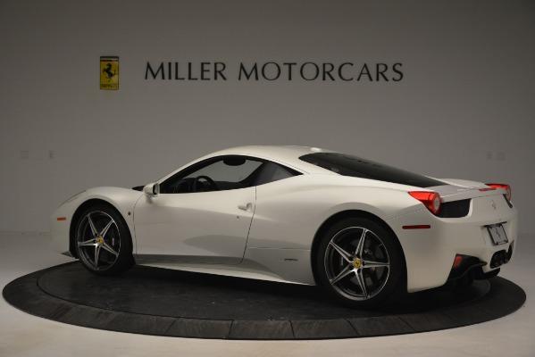 Used 2014 Ferrari 458 Italia for sale Sold at Aston Martin of Greenwich in Greenwich CT 06830 4