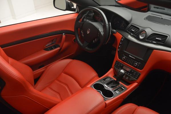 Used 2015 Maserati GranTurismo Sport for sale Sold at Aston Martin of Greenwich in Greenwich CT 06830 27