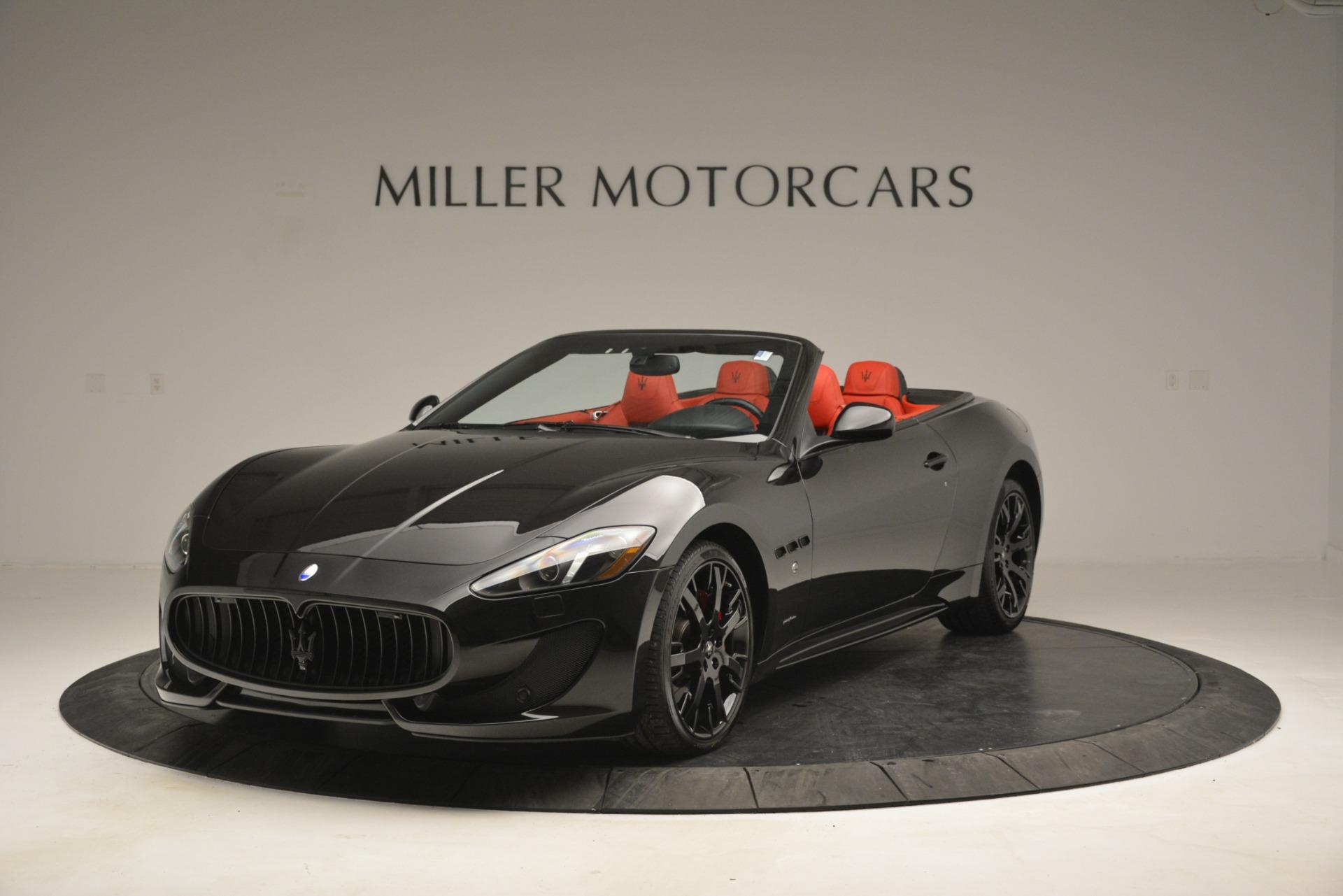 Used 2015 Maserati GranTurismo Sport for sale Sold at Aston Martin of Greenwich in Greenwich CT 06830 1