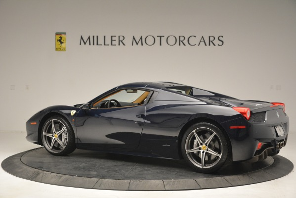 Used 2014 Ferrari 458 Spider for sale Sold at Aston Martin of Greenwich in Greenwich CT 06830 16