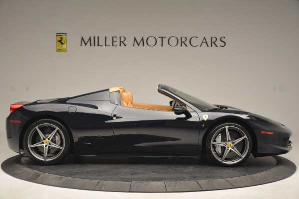 Used 2014 Ferrari 458 Spider for sale Sold at Aston Martin of Greenwich in Greenwich CT 06830 9