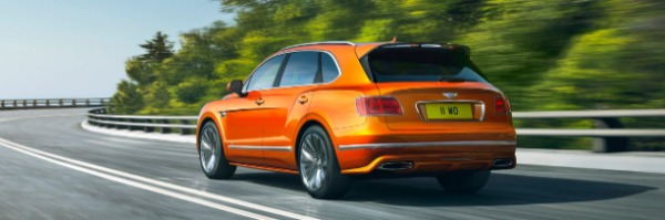 New 2020 Bentley Bentayga Speed for sale Sold at Aston Martin of Greenwich in Greenwich CT 06830 3