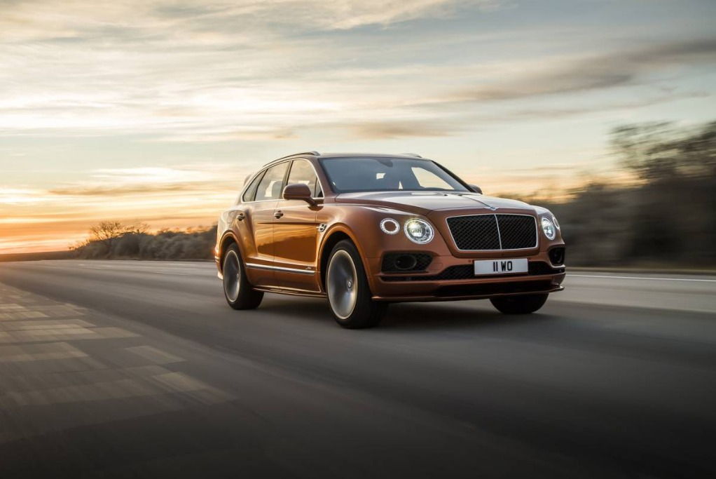 New 2020 Bentley Bentayga Speed for sale Sold at Aston Martin of Greenwich in Greenwich CT 06830 1