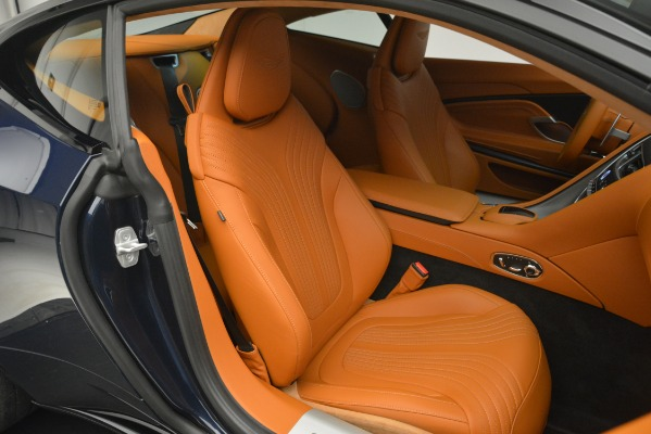Used 2018 Aston Martin DB11 V12 Coupe for sale Sold at Aston Martin of Greenwich in Greenwich CT 06830 22