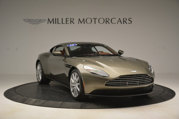 Used 2018 Aston Martin DB11 V12 Coupe for sale Sold at Aston Martin of Greenwich in Greenwich CT 06830 11