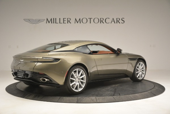 Used 2018 Aston Martin DB11 V12 Coupe for sale Sold at Aston Martin of Greenwich in Greenwich CT 06830 8