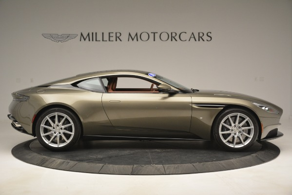 Used 2018 Aston Martin DB11 V12 Coupe for sale Sold at Aston Martin of Greenwich in Greenwich CT 06830 9