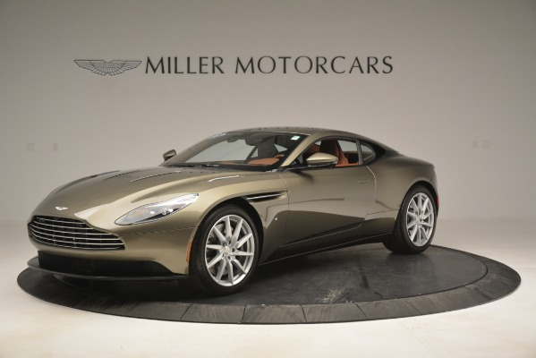 Used 2018 Aston Martin DB11 V12 Coupe for sale Sold at Aston Martin of Greenwich in Greenwich CT 06830 1