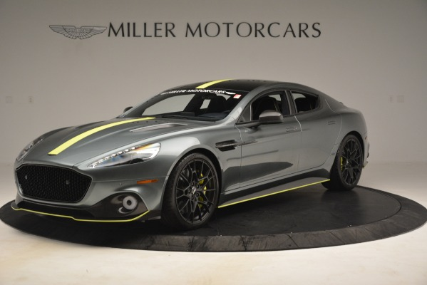 New 2019 Aston Martin Rapide AMR Sedan for sale $282,980 at Aston Martin of Greenwich in Greenwich CT 06830 1