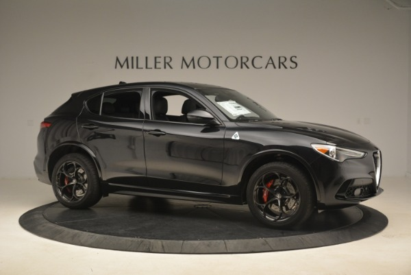 New 2019 Alfa Romeo Stelvio Quadrifoglio for sale $86,440 at Aston Martin of Greenwich in Greenwich CT 06830 10