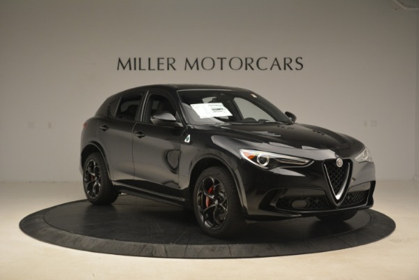 New 2019 Alfa Romeo Stelvio Quadrifoglio for sale $86,440 at Aston Martin of Greenwich in Greenwich CT 06830 11