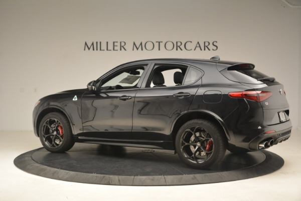 New 2019 Alfa Romeo Stelvio Quadrifoglio for sale $86,440 at Aston Martin of Greenwich in Greenwich CT 06830 4