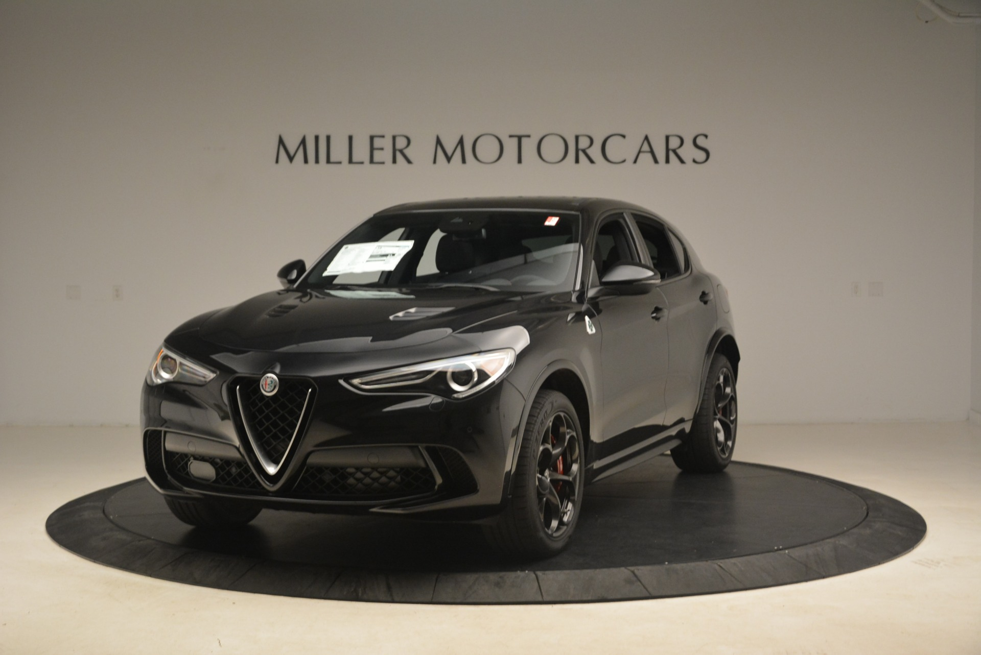 New 2019 Alfa Romeo Stelvio Quadrifoglio for sale $86,440 at Aston Martin of Greenwich in Greenwich CT 06830 1