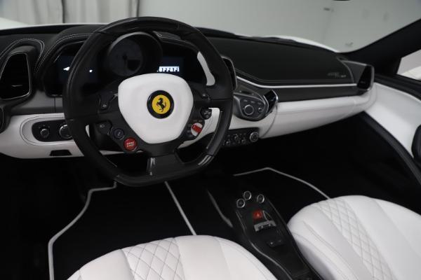 Used 2015 Ferrari 458 Spider for sale $229,900 at Aston Martin of Greenwich in Greenwich CT 06830 17