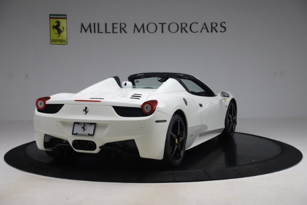 Used 2015 Ferrari 458 Spider for sale $229,900 at Aston Martin of Greenwich in Greenwich CT 06830 7