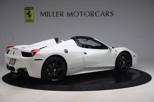 Used 2015 Ferrari 458 Spider for sale $229,900 at Aston Martin of Greenwich in Greenwich CT 06830 8