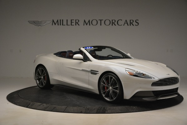 Used 2015 Aston Martin Vanquish Convertible for sale Sold at Aston Martin of Greenwich in Greenwich CT 06830 10