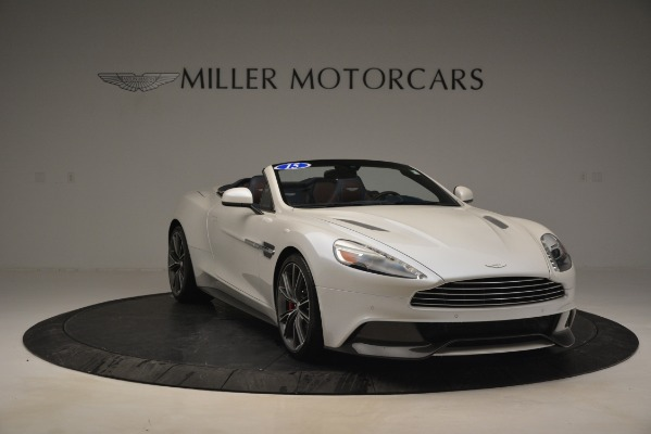Used 2015 Aston Martin Vanquish Convertible for sale Sold at Aston Martin of Greenwich in Greenwich CT 06830 11