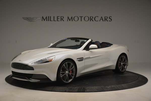 Used 2015 Aston Martin Vanquish Convertible for sale Sold at Aston Martin of Greenwich in Greenwich CT 06830 1