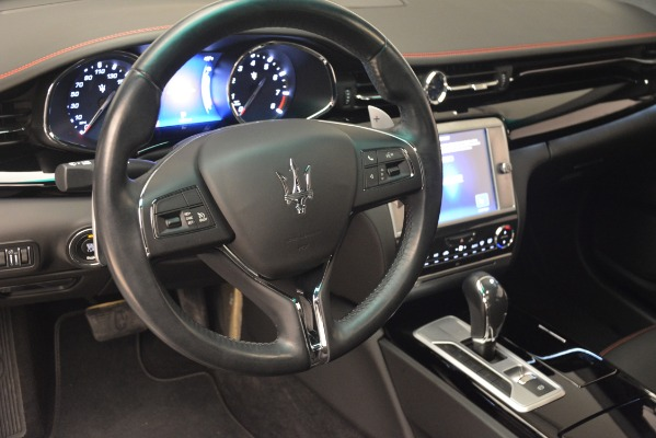 Used 2015 Maserati Quattroporte GTS for sale Sold at Aston Martin of Greenwich in Greenwich CT 06830 15