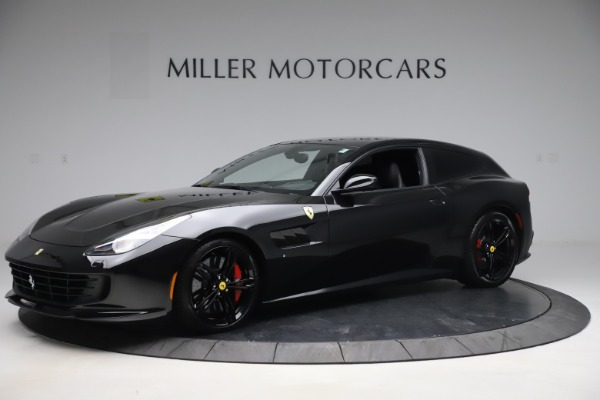 Used 2018 Ferrari GTC4Lusso for sale $209,900 at Aston Martin of Greenwich in Greenwich CT 06830 2